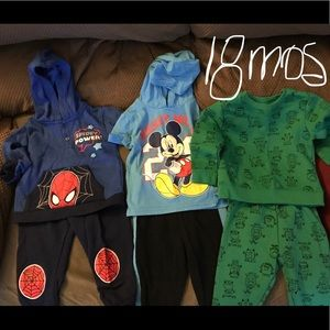 Other - Three 18 Month Baby Boy Outfits